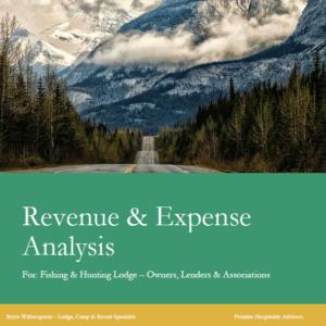 Fishing & Hunting Lodge Revenue & Expense Analysis Report