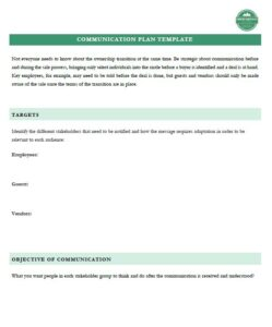 fishing & hunting lodge camp or resort sale communications plan example