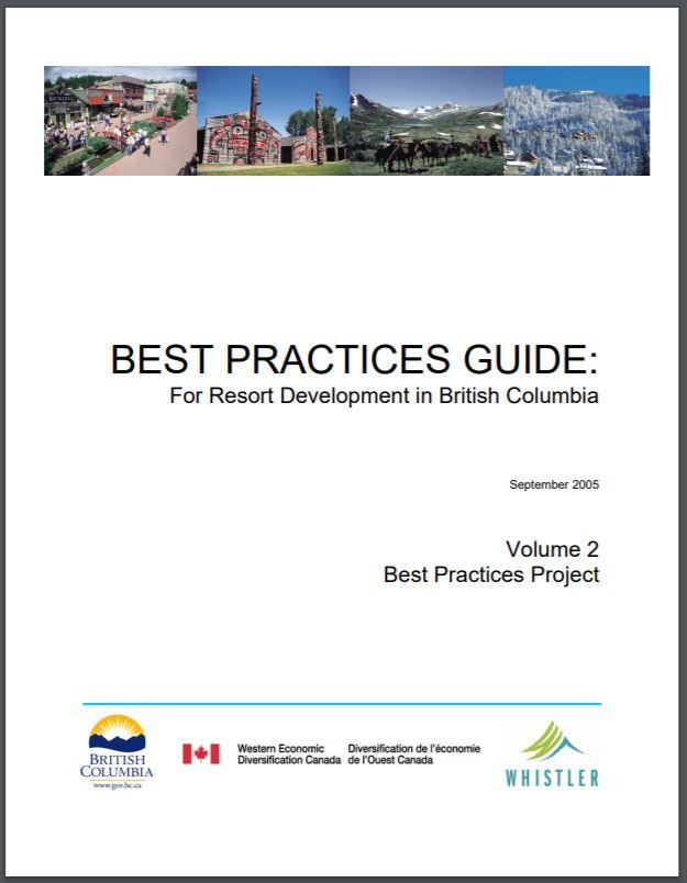 Best Practices Guide For Resort Development in British Columbia