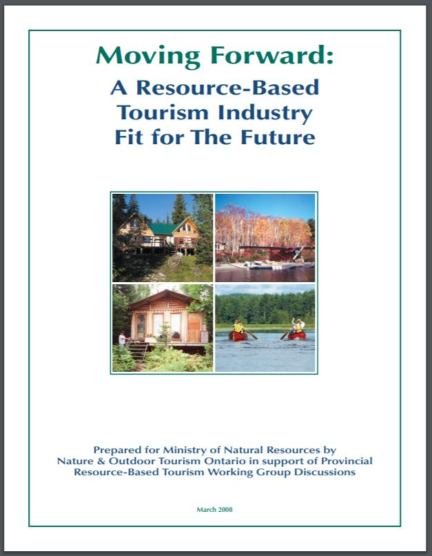 Moving Forward: A Resource-Based Tourism Industry Fit For The Future