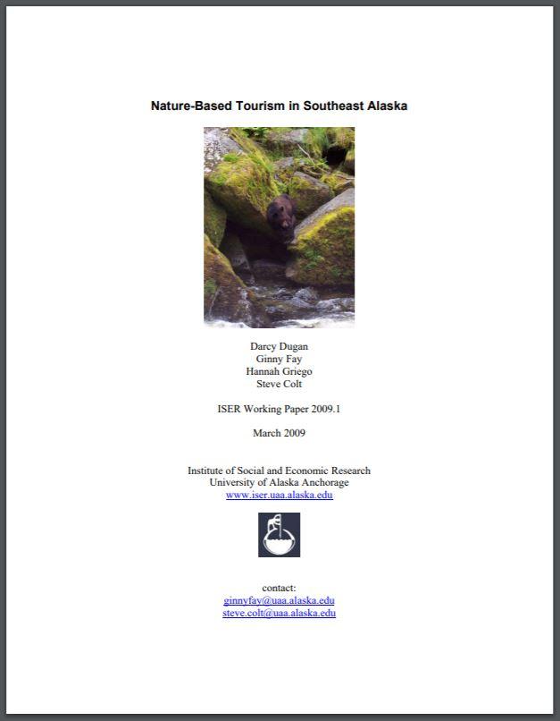 Nature-Based Tourism in Southeast Alaska