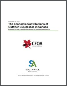 The Economic Contributions of Outfitter Businesses in Canada