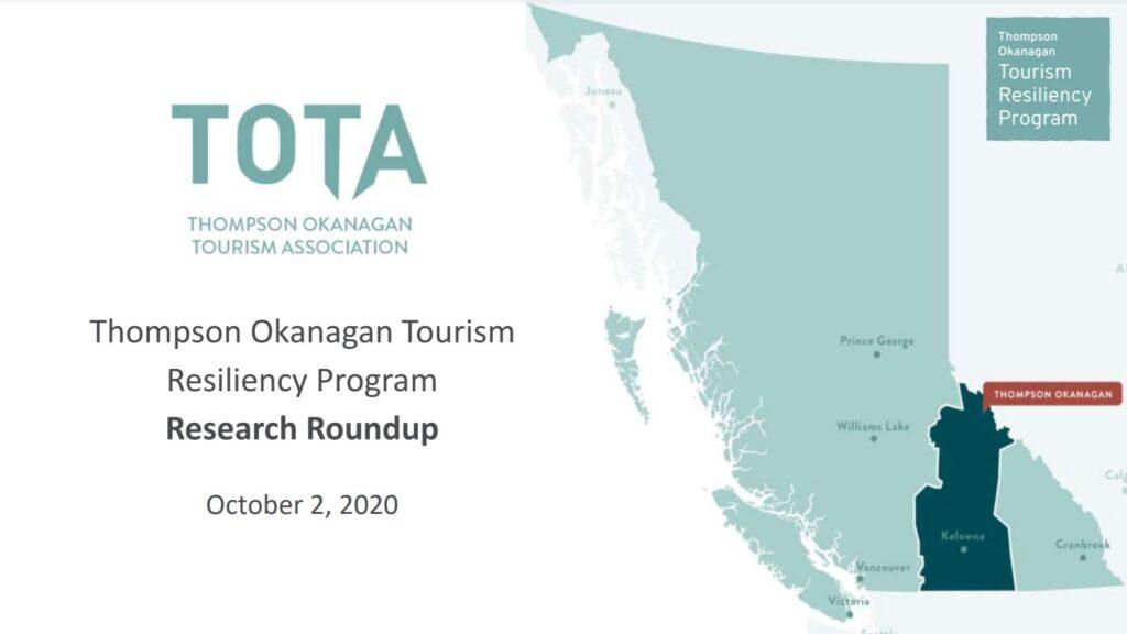 Thompson Okanagan Tourism Resiliency Roundup
